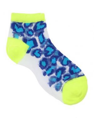 Короткие носки PAUL SMITH. Цвет: лазурный