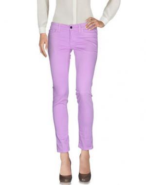 Повседневные брюки S.O.S by ORZA STUDIO. Цвет: сиреневый