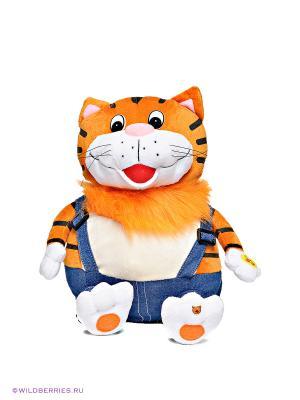Мягкая игрушка Кот Мульти-пульти. Цвет: оранжевый, белый