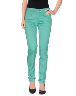 Повседневные брюки ROBERTA SCARPA. Цвет: зеленый
