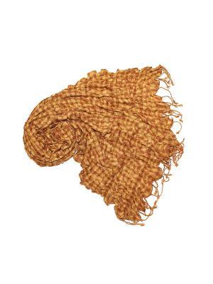 Платок Ethnica. Цвет: бежевый, коричневый