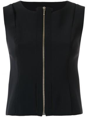 Zipped blouse Gloria Coelho. Цвет: чёрный