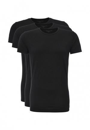 Комплект футболок 3 шт. Tommy Hilfiger. Цвет: черный