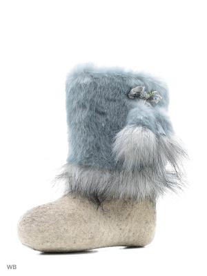 Валенки Кукморский валяльно-войлочный комбинат. Цвет: серый