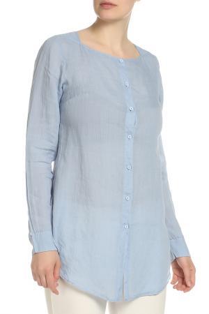 Рубашка с длинными рукавами EUROPEAN CULTURE. Цвет: голубой