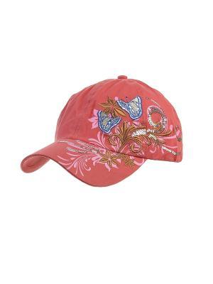 Бейсболка Migura. Цвет: коралловый, розовый