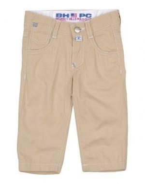 Повседневные брюки BEVERLY HILLS POLO CLUB. Цвет: бежевый