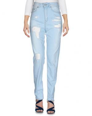 Джинсовые брюки 5PREVIEW. Цвет: синий