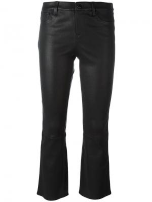 Укороченные брюки Selena J Brand. Цвет: чёрный