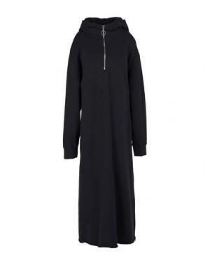 Платье длиной 3/4 C.Y.H. CLAP YOUR HAND. Цвет: черный