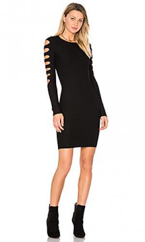 Платье свитер lauren Bailey 44. Цвет: черный