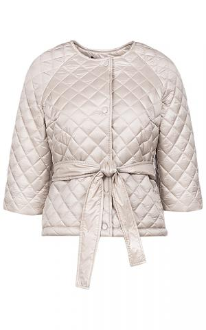 Куртка на синтепоне с поясом La Reine Blanche