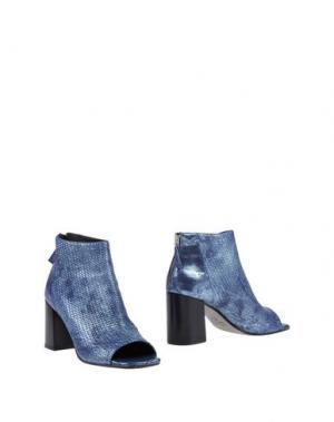 Полусапоги и высокие ботинки LAURA BELLARIVA. Цвет: пастельно-синий