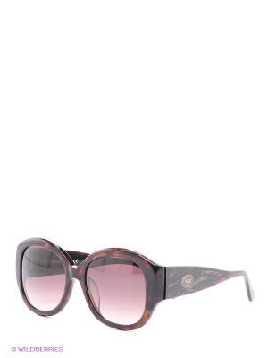 Солнцезащитные очки LM 527 02 La Martina. Цвет: коричневый