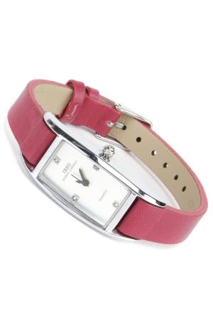 Часы на ремне IBSO. Цвет: серебристый, малиновый