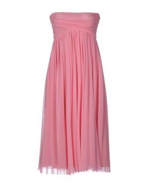 Платье до колена FUZZI. Цвет: светло-фиолетовый