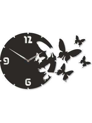Часы настенные Михаилъ Москвинъ. Цвет: черный