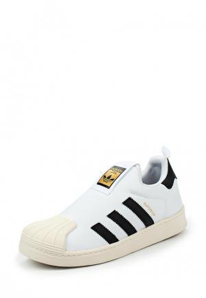 Кеды adidas Originals. Цвет: черно-белый