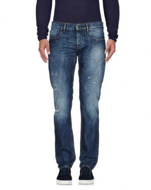 Джинсовые брюки URBAN LES HOMMES. Цвет: синий