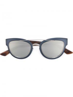 Солнцезащитные очки Chromic Dior Eyewear. Цвет: синий