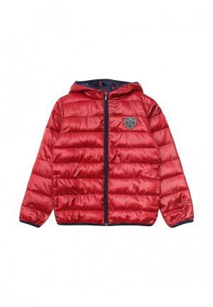 Куртка утепленная 3 Pommes. Цвет: красный