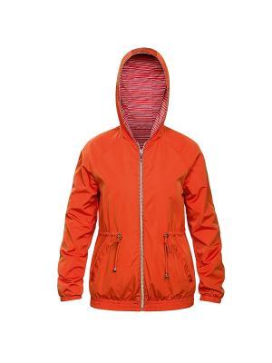 Ветровка PELICAN. Цвет: оранжевый