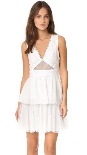 Платье Annabelle от ZAC Posen. Цвет: белый
