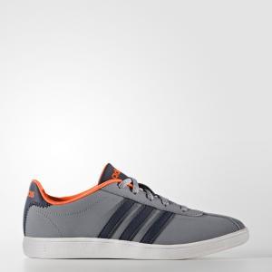 Кроссовки VLCOURT K  Спортивный стиль adidas. Цвет: оранжевый
