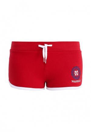 Шорты спортивные Marshall Original. Цвет: красный