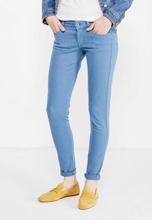 Брюки Pepe Jeans. Цвет: голубой