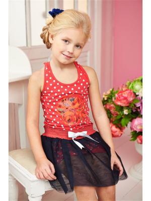 Комплект одежды I love to dream. Цвет: красный, коралловый