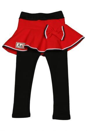 Юбка-брюки Patano. Цвет: красный