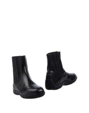 Полусапоги и высокие ботинки PIRELLI PZERO. Цвет: черный