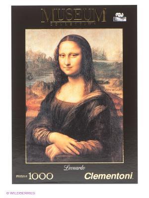 Пазл Мона Лиза Clementoni. Цвет: черный