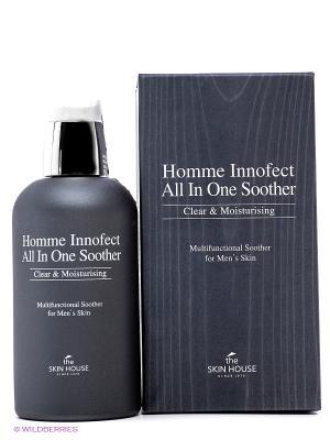 Многофункциональное ухаживающее средство для мужчин The Skin House. Цвет: темно-серый