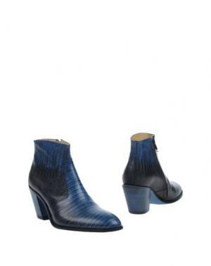 Полусапоги и высокие ботинки FREE LANCE. Цвет: синий