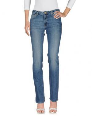 Джинсовые брюки LEE. Цвет: синий