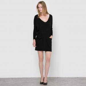 Платье из трикотажа Pantxoa SUNCOO. Цвет: черный