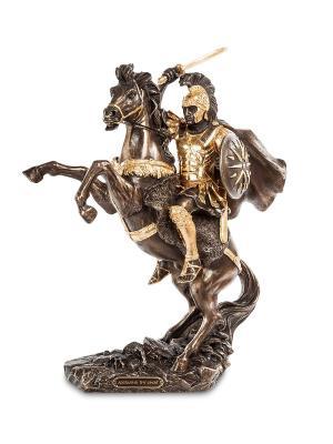 Статуэтка Александр Македонский Veronese. Цвет: серебристый