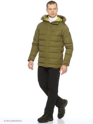 Куртка TERRENCEVILLE INS JKT M Jack Wolfskin. Цвет: оливковый