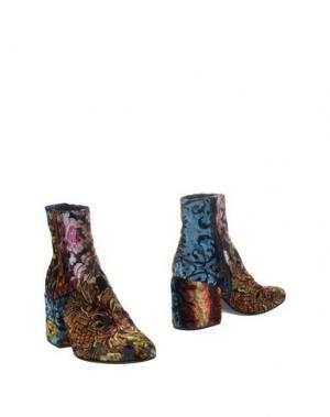 Полусапоги и высокие ботинки NORA BARTH. Цвет: коричневый