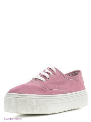 Кеды El Tempo. Цвет: розовый