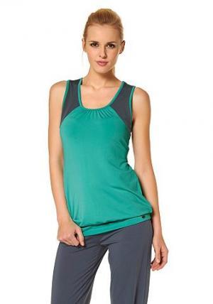Топ OCEAN Sportswear. Цвет: мятный + серый