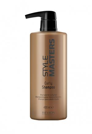 Шампунь для вьющихся волос Revlon Professional. Цвет: золотой