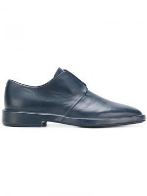 Slip-on shoes Jil Sander. Цвет: синий