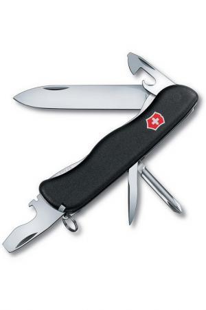 Нож перочинный 11 функций Victorinox. Цвет: черный