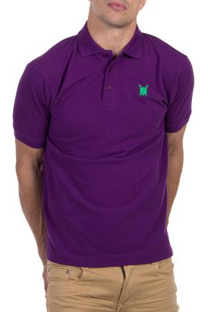 Рубашка-поло POLO CLUB С.H.A.. Цвет: lilac
