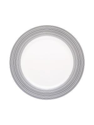 Набор тарелок обеденных 23 см ВИРПУЛ 6 шт Miolla. Цвет: белый
