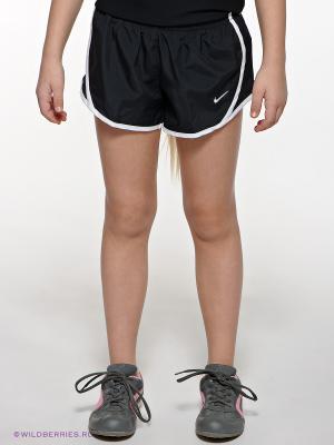 Шорты TEMPO Nike. Цвет: черный
