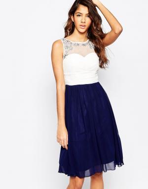 Laced In Love Короткое приталенное платье с пышной юбкой
